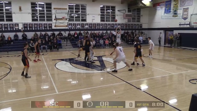 2018 BBB Seton Catholic vs Oldenburg Academy
