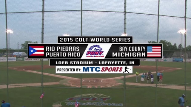 2015 Game 8 Puerto Rico vs Michigan