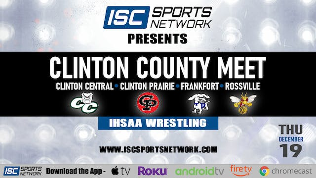 2019 WRE Clinton County Wrestling Meet