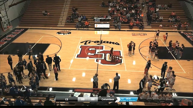 2018 IHSAA GBB Columbus East vs Columbus North