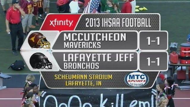 2013 FB McCutcheon at Lafayette Jeff