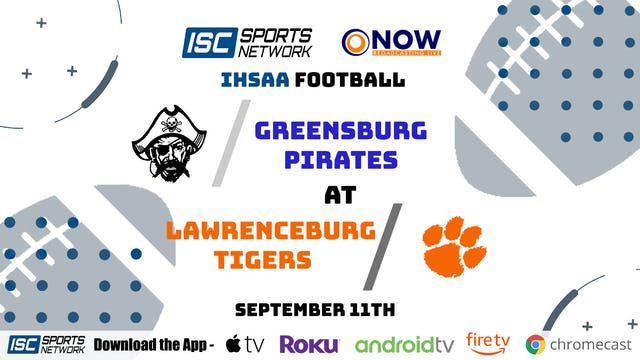 2020 FB Greensburg at Lawrenceburg 9/...