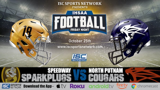 2019 IHSAA FB Speedway at North Putnam