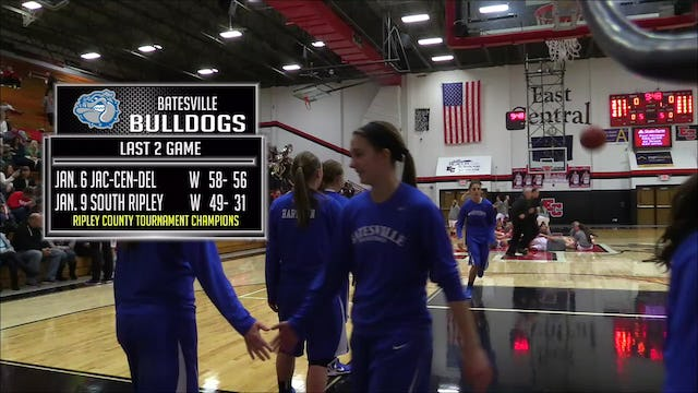 2015 GBB Batesville at East Central