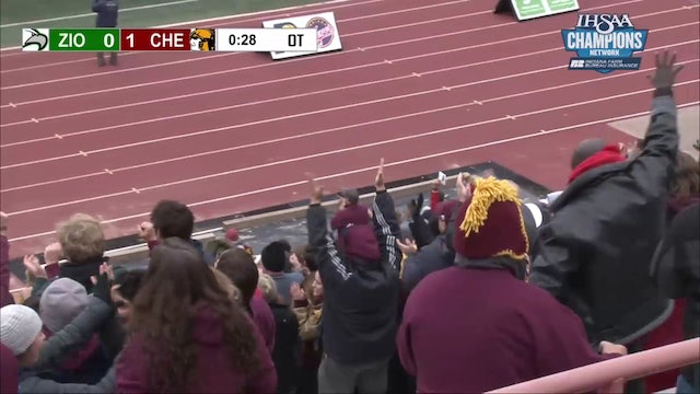 2018 Chesterton wins the State Soccer Championship in OT