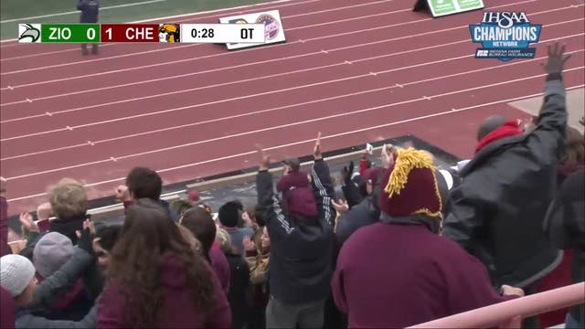 2018 Chesterton wins the State Soccer...