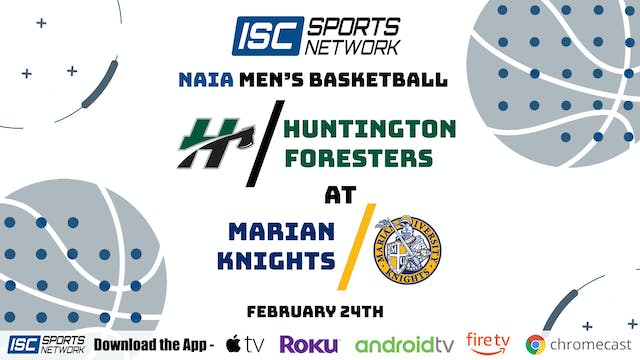 2021 MBB Huntington at Marian 2/24