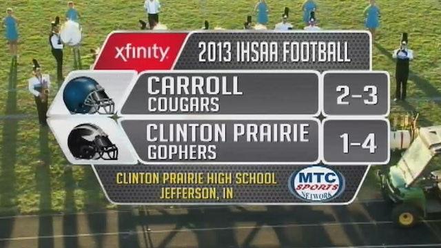 2013 FB Carroll at Clinton Prairie