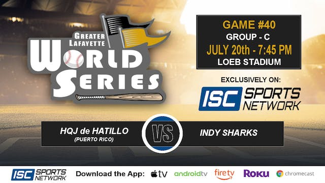 2019 GLWS G40 Puerto Rico vs Indy Sharks