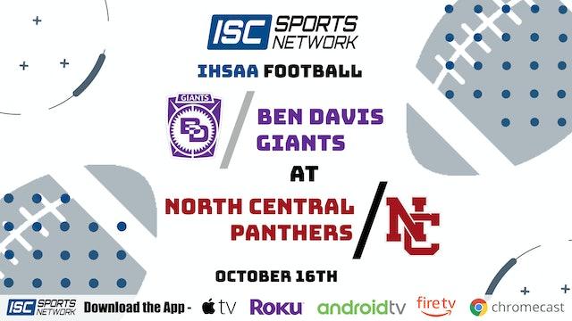 2020 FB Ben Davis at North Central 10/16/20