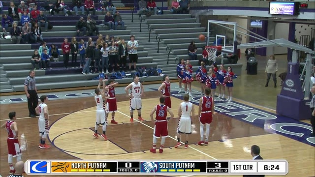 2016 BBB PCT North Putnam vs South Putnam
