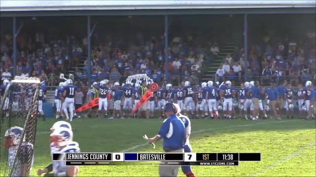 2014 FB Jennings County at Batesville
