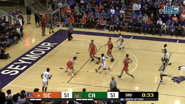 2019 IHSAA BBB Silver Creek vs Attucks hustle play