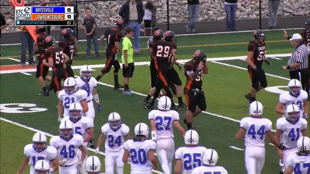2015 FB Batesville at Lawrenceburg