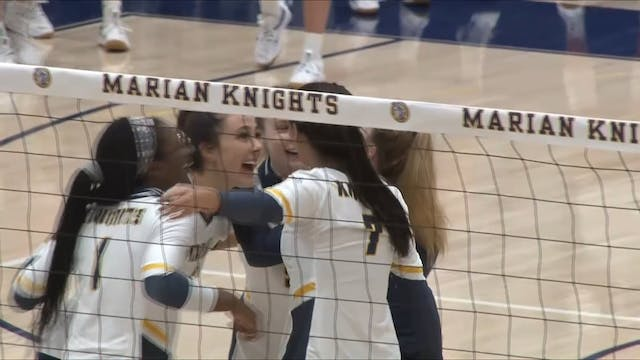 2020 CVB Marian Volleyball Feature