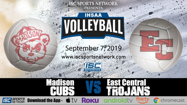 2019 GVB Madison at East Central 9/7