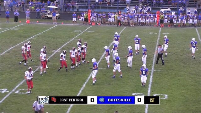 2015 FB East Central at Batesville