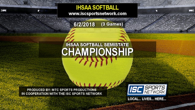 2018 IHSAA SB Lake Central vs Noblesville