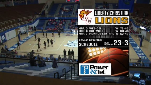 2015 IHSAA Liberty Christian vs Seton...