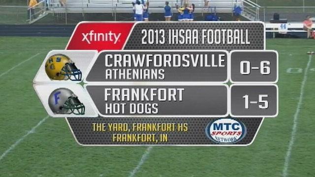 2013 FB Crawfordsville at Frankfort