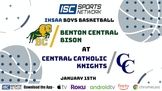 2021 BBB Benton Central at Central Catholic 1/15