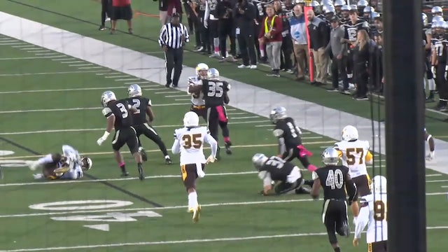 Punt Return for TD by UIndy's #1 Daveon Bell