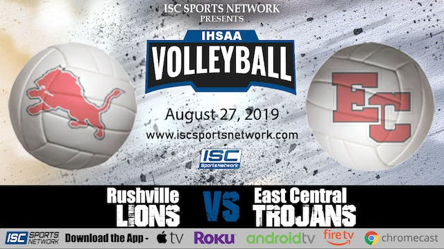 2019 VB Rushville at East Central