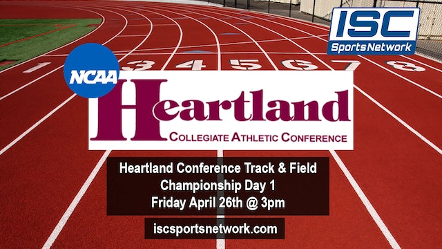 Heartland Conference Track & Field Day 1