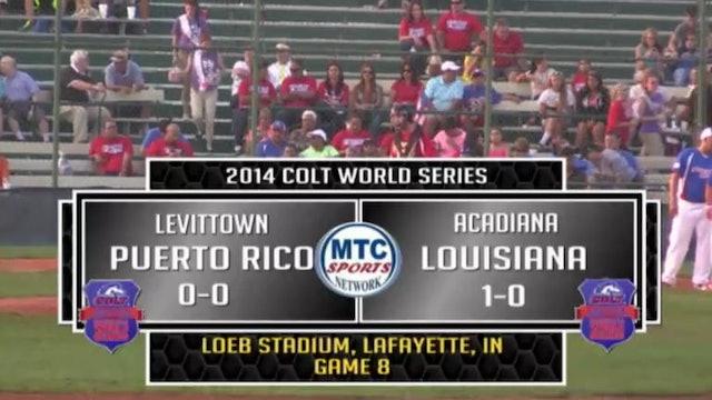 2014 Game 8 Puerto Rico vs Louisiana