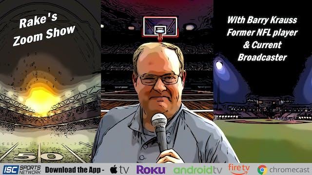 Rake's Zoom Show: Barry Krauss