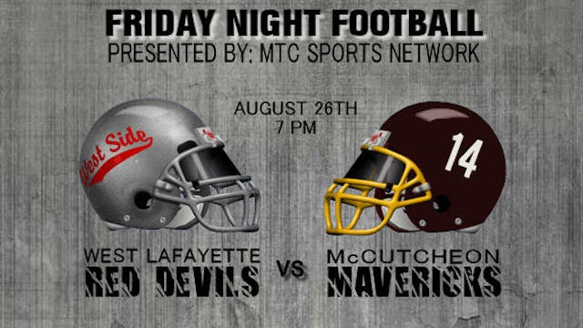 2016 FB West Lafayette at McCutcheon