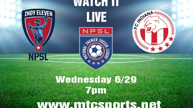 2016 NPSL Indy Eleven at FC Indiana