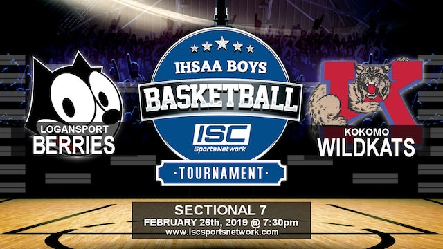 2019 IHSAA BBB Logansport vs Kokomo