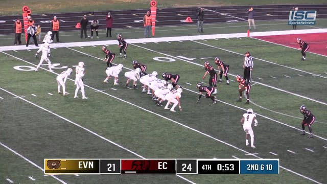 2018 IHSAA FB Evansville Central vs E...