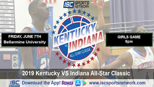 2019 IBCA GBB Indiana All Stars vs Kentucky All Stars