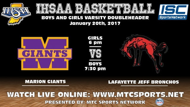 2017 BBB Marion at Lafayette Jeff