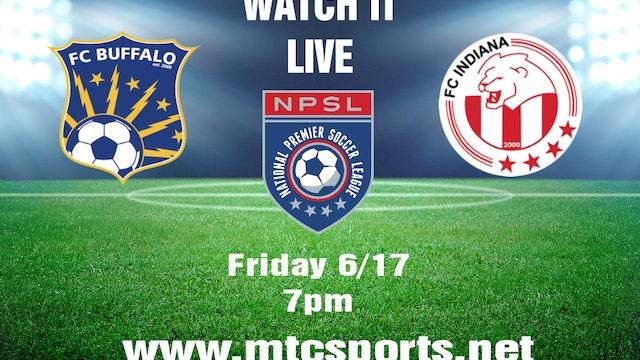 2016 NPSL FC Buffalo at FC Indiana