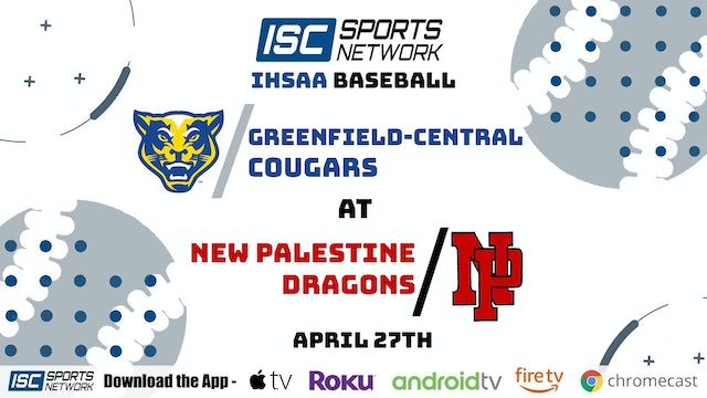 2021 BSB New Palestine at Greenfield Central 4/27