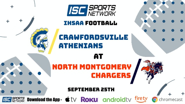 2020 FB Crawfordsville at North Montgomery