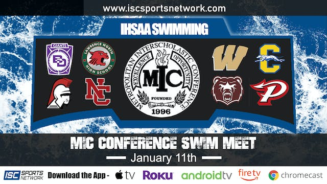 2020 MIC Swimming Conference Finals