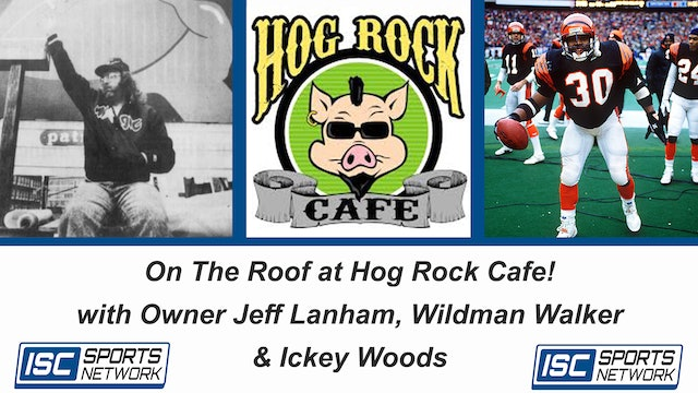 On The Roof at Hog Rock Cafe!