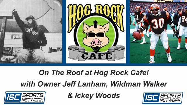 On The Roof at Hog Rock Cafe!