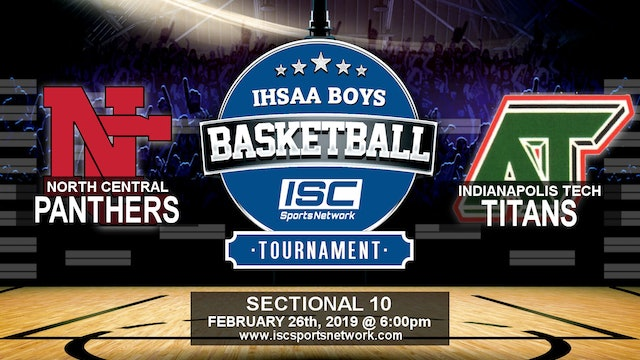 2019 IHSAA BBB North Central vs Indianapolis Tech