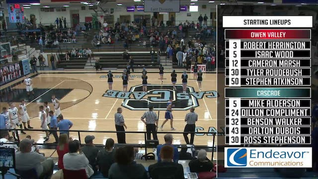 2017 BBB Owen Valley at Cascade