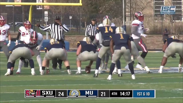 2018 CFB St Xaiver at Marian Salary running
