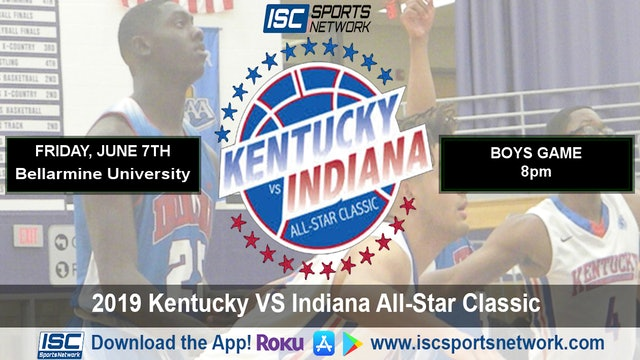 2019 IBCA BBB Indiana All Stars vs Kentucky All Stars