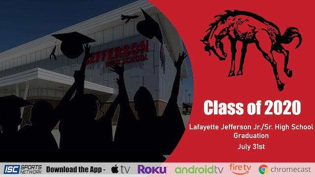 2020 Lafayette Jeff High School Graduation