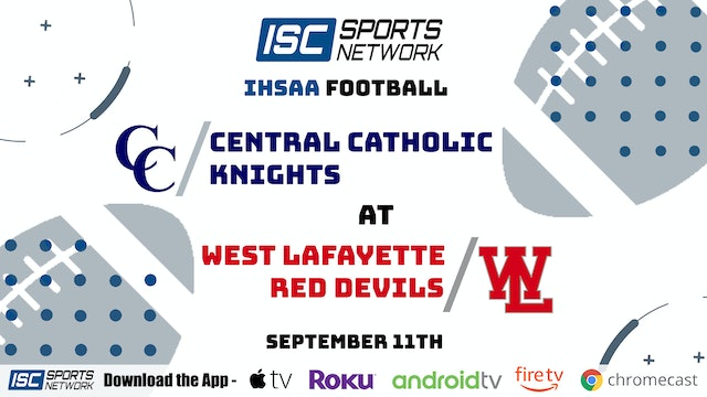 2020 FB Central Catholic at West Lafayette