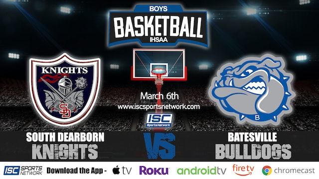 2020 IHSAA BBB South Dearborn vs Batesville