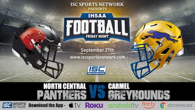 2019 FB North Central at Carmel
